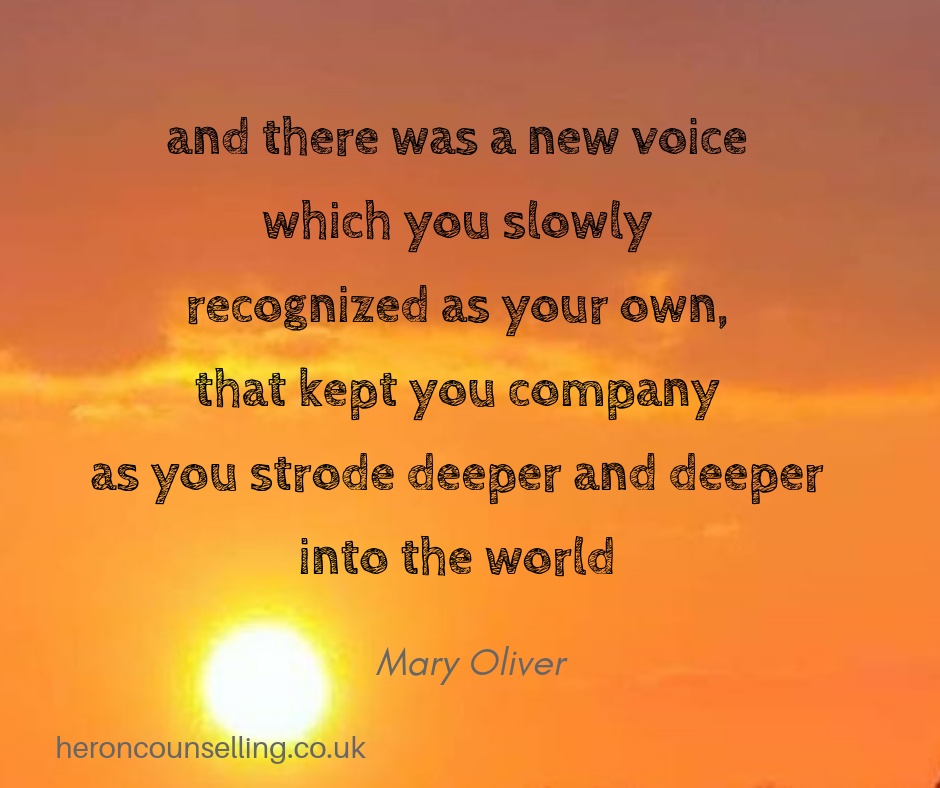 Find your voice and ask for what you need - Counselling for Self-Esteem in St Albans