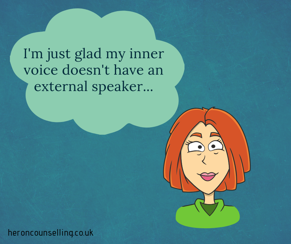 Controlling your Inner Voice - Counselling for Self-Esteem in St Albans